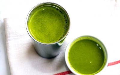 Warm Green Drinkable Soup Says 'Move Over Green Smoothie'