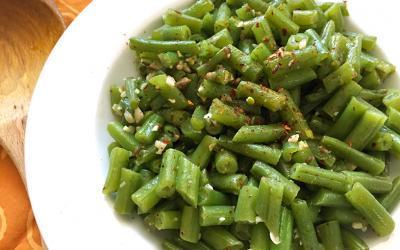 Green Bean Confetti Sauté